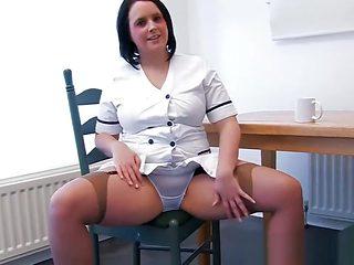 Sexy upskirt panties tease 3
