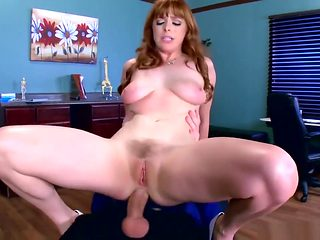 Penny Pax loves office anal