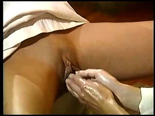 Pussy fisted fetish lesbian rubs her clit in hi def