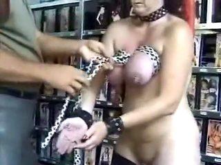 Hottest amateur Mature, Stockings xxx clip