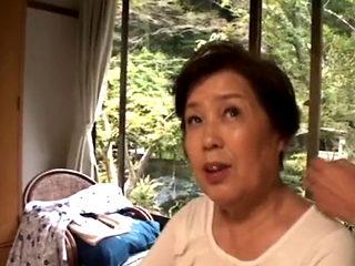 Asian Grandmom Ishikawa Mitsue Gets Fucked Hard