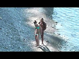 Nudist beach blowjob VOYEUR VIDEO