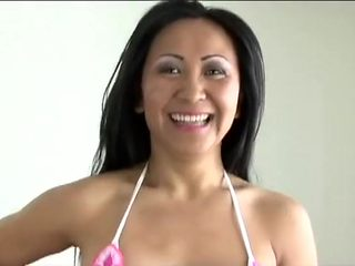 Amazing pornstar Kitty Langdon in exotic blowjob, asian xxx movie