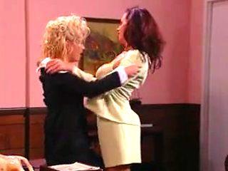 lesbian office part 2