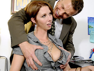 Chance Caldwell & Destiny Porter in Destiny Porter Flaunts All Her Assets To Please Her Boss - Be...