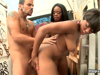 Best pornstar Imani Rose in Amazing Black and Ebony, Big Tits porn movie
