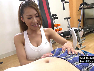 Asian Babe Gets Fucked By Her Instructor.