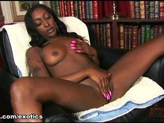 Fabulous pornstar in Amazing Black and Ebony, Solo Girl sex movie