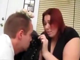 Amazing homemade BBW, Redhead porn scene