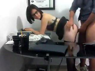 Horny Teen Secretary
