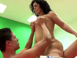 Montse Fulfills A Dream To Ride Kevin Coto's (aka Monstercock) Huge Dong