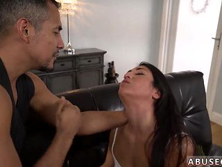 Milf Punishes Teen Rough Anal Romp For Lexy Banderas Birthday