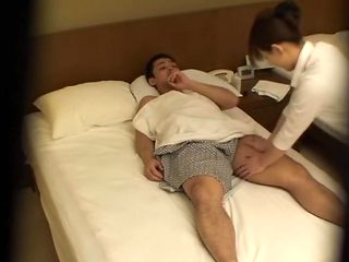 Amazing Jap girl fucked and creampied