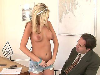 Horny boss getting into hardcore assfucking