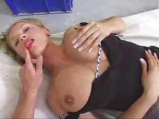 Natural Busty Blond takes it in the ass.F70