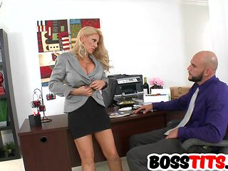 Fucking His Busty Boss Charity Mclain
