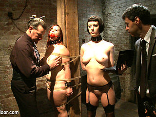 Cherry Torn & Bella Rossi & Maestro Stefanos & Nerine Mechanique in Service Session: Tour The Arm...