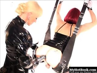 Mistress Alexandra will be wearing her leather and latex...