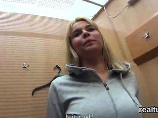 Fantastic czech sweetie was seduced in the mall and penetrat