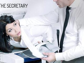 Rina Ellis in The Secretary - OfficeObsession