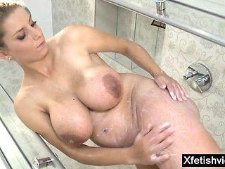 Big tits pregnant sex with cumshot