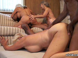 Nursing Home Orgy: Black Attack! - Vivid