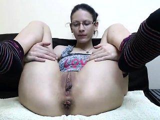 Real Amateur Chubby Busty Teen Masturbate
