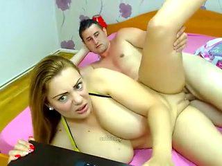 Crazy homemade MILFs, Big Tits xxx scene