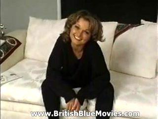 Clare Margarson - British Retro Cum On Pussy