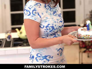 Familystrokes- Fucking My Dad While Mom Cooks