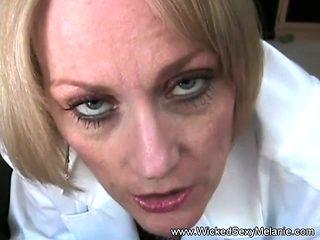 Granny Doctor Examines Cock
