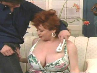 Huge tits vintage bbw step mom