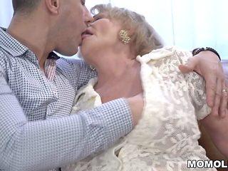 Kinky Granny Needs Some Cock
