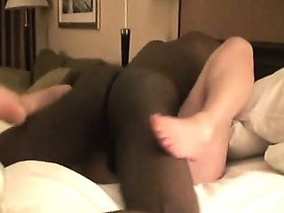 Plus-sized cuckold wife cums throughout her fuckers that we