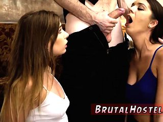 German foot slave and dominant woman wrestling Two