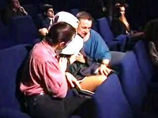 Orgy Group Sex In Movie Theater Part 1