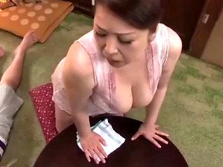 Horny Japanese Mom Loves Fucking