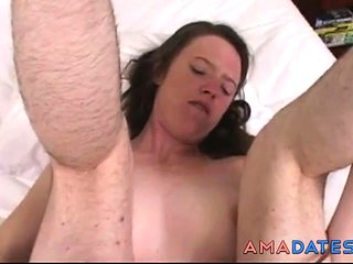 HAIRY WOMAN ANAL & CREAMPIE