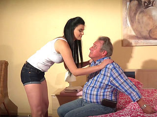 Alice Nice Getting Fucked By An Older Man