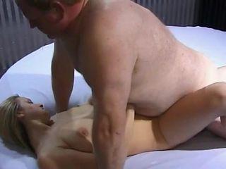 Old fat men fuck 21y Lena
