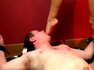 Slave facesitting & foot worship HD