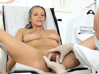 A horny doctor is willing for his charming patient