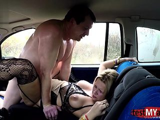 Big tits amateur hardcore anal with cumshot