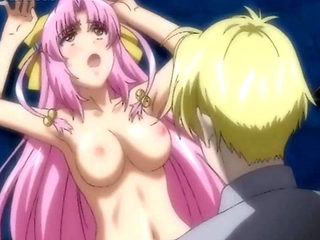 Stockinged Hentai Mistress Riding Hard Cock