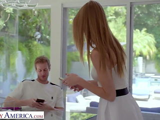 Naughty America - Tennis instructor gets lucky with student