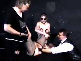 Exotic amateur Anal, Slave sex scene