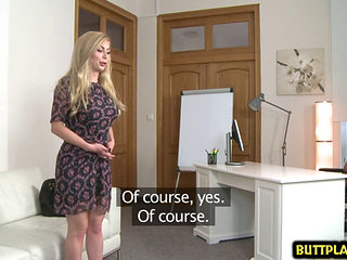Russian Pornstar Casting And Facial