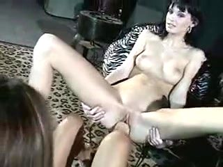 Horny homemade Fisting, Lesbian xxx movie