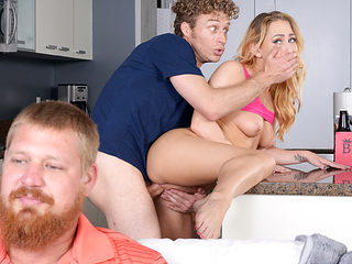 Carter Cruise & Michael Vegas in Carters Game Plan - SneakySex
