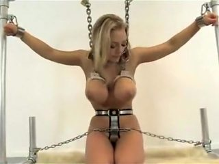 Best homemade Solo Girl, Blonde porn clip